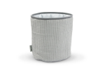 Small Basket Cotton-waffel Grey