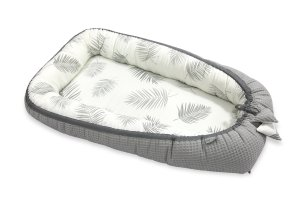 Bamboo Babycocoon Palms & Grey