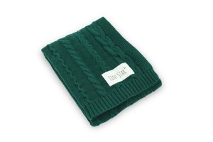 Cotton Blanket Deep Green