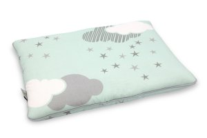 Baby Pillow 30x40 Minty Puffs