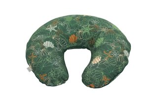 Pillow For Feeding Shells & Green