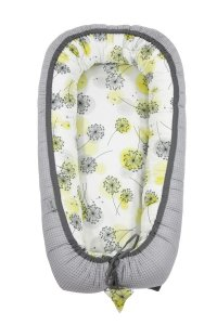 Babycocoon Cotton-waffel Sunny Day & Grey