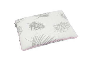 Bamboo Pillow Palms & Pink line