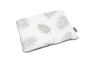 Bamboo Pillow Palms & Grey line