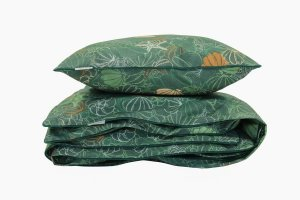 Bedding Set Shells & Green