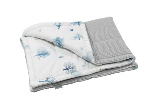 Babydecke Cotton-waffel 75x100 Magic & Grey