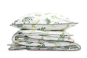 Bedding Set Green Sprigs