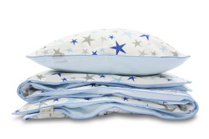Bedding Set Blue Stars